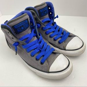 Converse All Star Chuck Taylor size 7 Men's Gray Blue High Street Sneakers